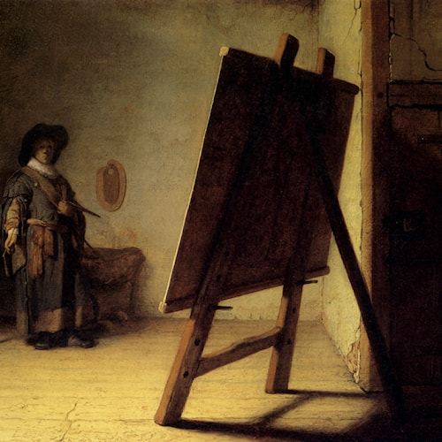 Rembrandt | The Artist in his Studio