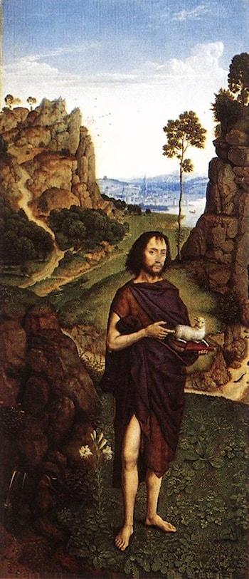 St John the Baptist by Dieric Bouts the Younger