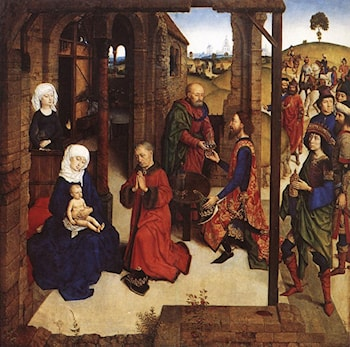 The Adoration of the Magi by Dieric Bouts the Younger