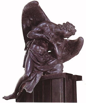 Adoring Angel by Georg Raphael Donner