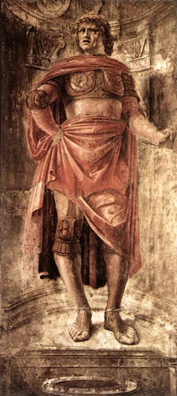 Man with a Broadsword by Bramante