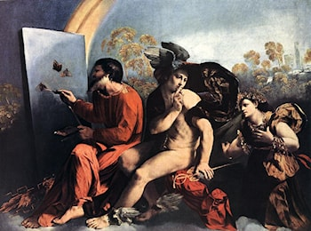 Jupiter, Mercury and the Virtue by Dosso Dossi