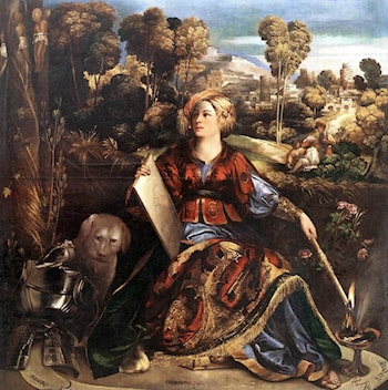 Circe (or Melissa) by Dosso Dossi