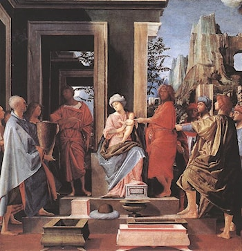 Adoration of the Magi by Bramantino