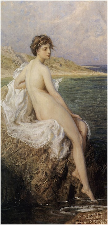 Bather by Herbert James Draper