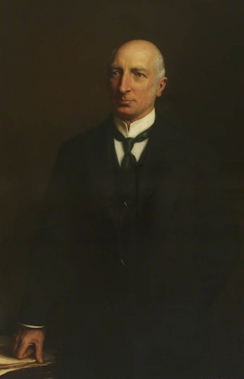 Sir Frederick Taylor, MD, Physician to Guy's Hospital (1873–1907) by Herbert James Draper