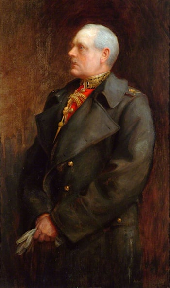 Lieutenant General Sir William Edmund Franklyn, KCB, Colonel of the Regiment (1906–1914) by Herbert James Draper