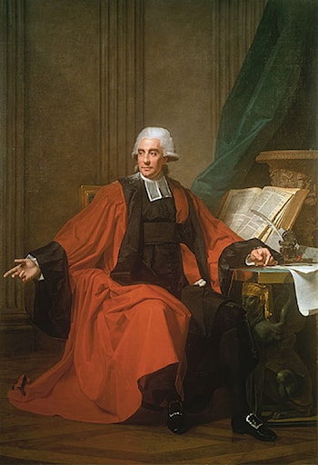 Joseph Merceron, advocate for the Parliament of Paris by Martin Drolling