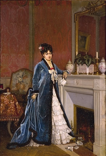 News from Afar by Auguste Toulmouche