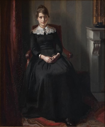 Portrait of Marie Triepcke by Michael Peter Ancher