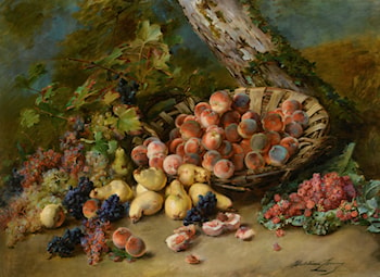 Still Life with Fruits by Madeleine Jeanne Lemaire