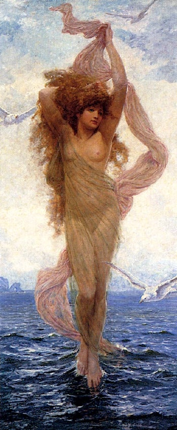The Birth Of Venus by Robert Fowler