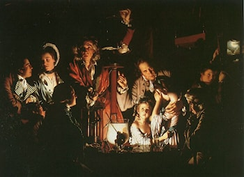 Experiment with the Air­Pump by Joseph Wright of Derby