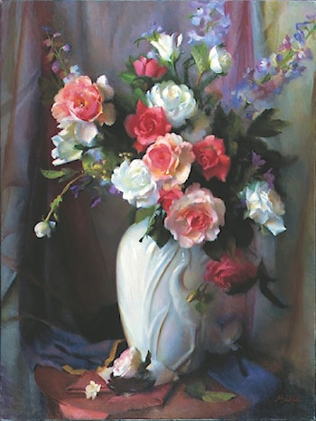 The White Vase by Mary Minifie