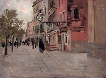 Street in Venice by Frits Thaulow