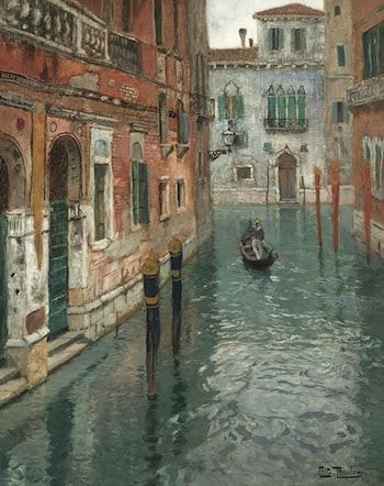 View of Venice by Frits Thaulow