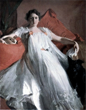 Portrait de Mme Ashley by Anders Zorn