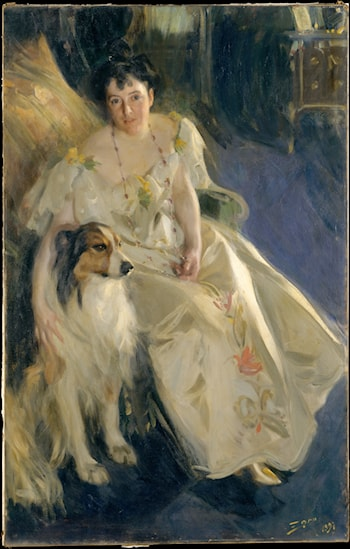 Mrs. Bacon by Anders Zorn