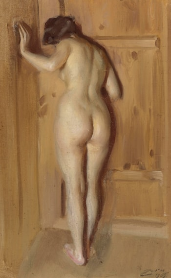 Nude Woman by Anders Zorn