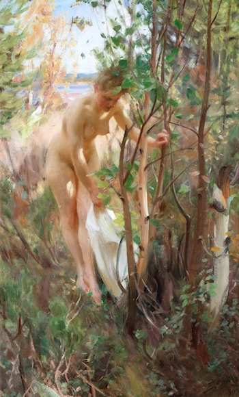 Eva by Anders Zorn