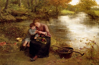 Blackberry Picking by James Clarke Hook