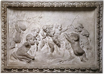 Bacchanalia of Putti by Francois Duquesnoy