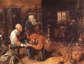 The Operation by Adriaen Brouwer