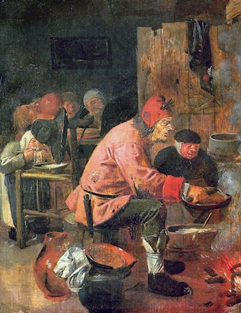 The Pancake Baker by Adriaen Brouwer