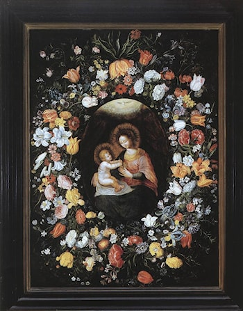 Holy Virgin and Child by Ambrosius Brueghel