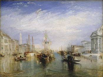 The Grand Canal, Venice by Joseph Mallord William Turner