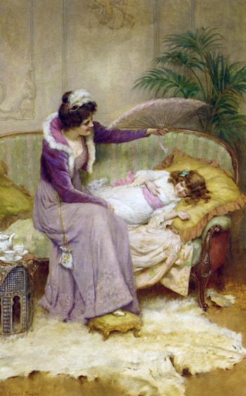 Mother's Comfort by George Sheridan Knowles