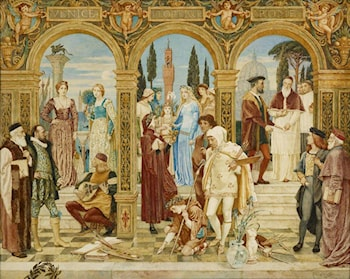 The Apotheosis of Italian Art by Walter Crane