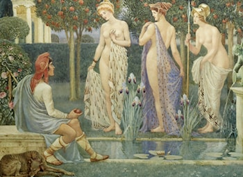 The Judgement of Paris by Walter Crane