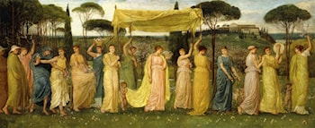 The Advent of Spring by Walter Crane