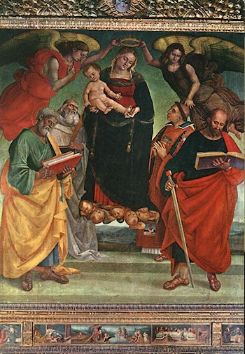 Madonna and Child with Saints by Luca Signorelli