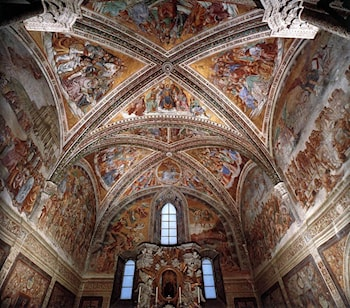 Frescoes in the Chapel of San Brizio by Luca Signorelli