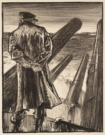 Making Sailors: The Lookout by Sir Frank Brangwyn, R.A.