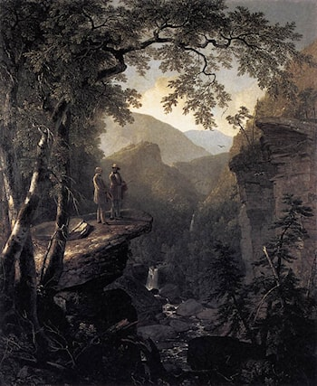 Kindred Spirits by Asher Brown Durand