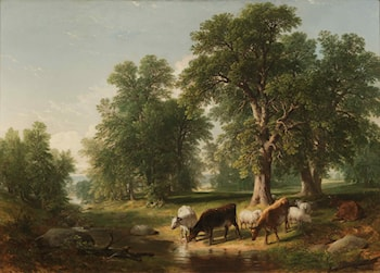 A Summer Afternoon by Asher Brown Durand