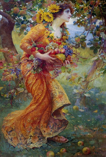 The Orchard by Franz Dvorak