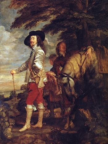 Charles I: King of England at the Hunt by Sir Antony van Dyck