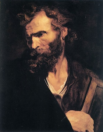 Apostle Jude by Sir Antony van Dyck