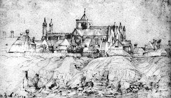 St Mary's Church at Rye, England by Sir Antony van Dyck