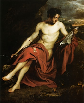 Saint John the Baptist in the Wilderness by Sir Antony van Dyck