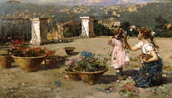 On the Terrace by Vincenzo Irolli