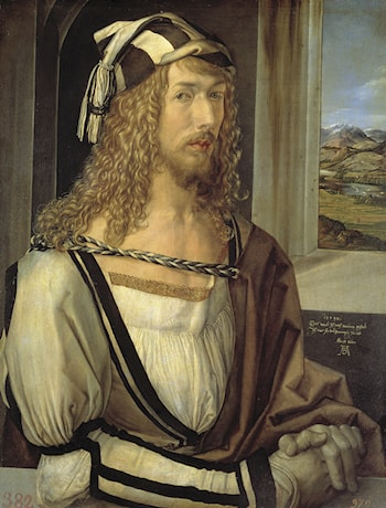 Self Portrait at 26 by Albrecht Durer