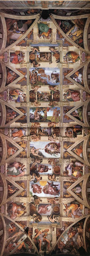 Ceiling of the Sistine Chapel by Michelangelo