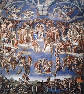 The Last Judgement by Michelangelo