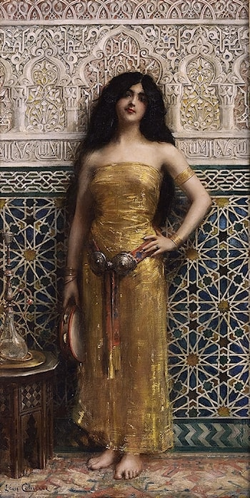 Harem Dancer by Lêon Francois Comerre