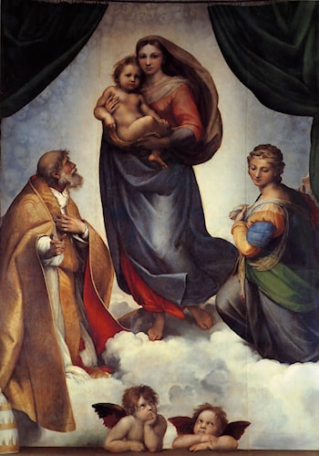The Sistine Madonna by Raphael